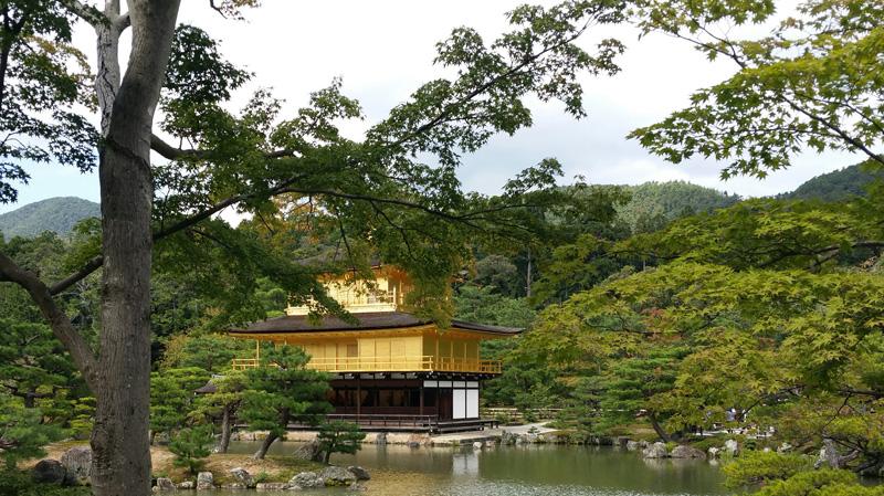 Gouden tempel Kyoto