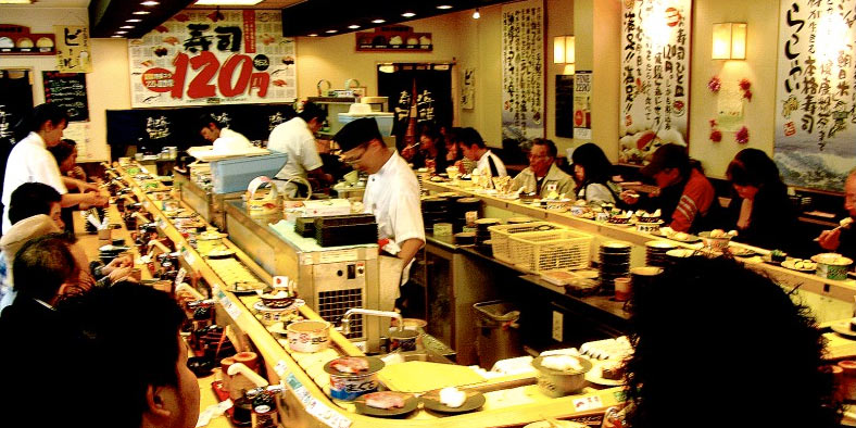 sushi bar Tokyo