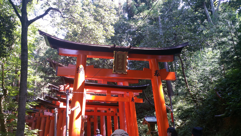 Tempel Torri's in Kyoto