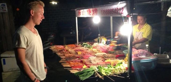 streetfood in Azie