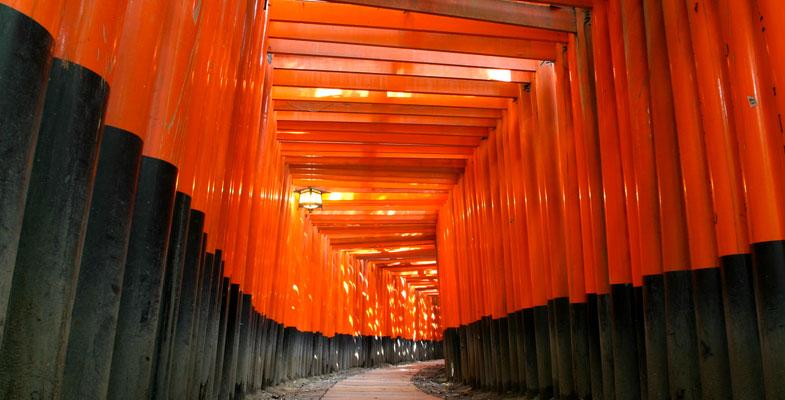 Kyoto Inari tempel