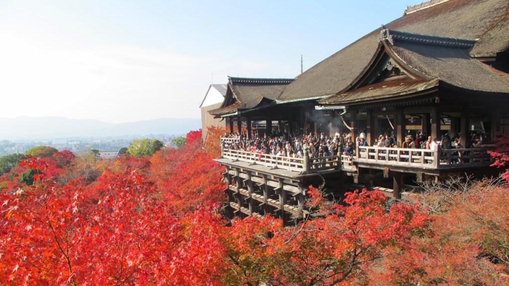 Herfstvakantie in Japan
