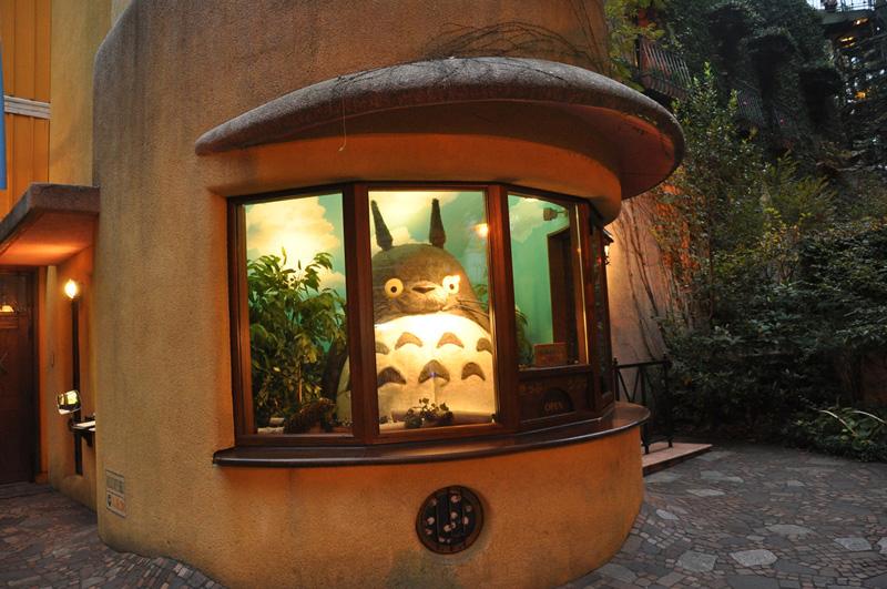 Entree Ghibli museum