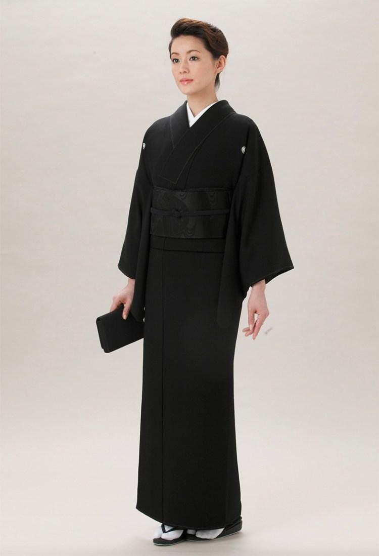Мофуку кимоно похороны