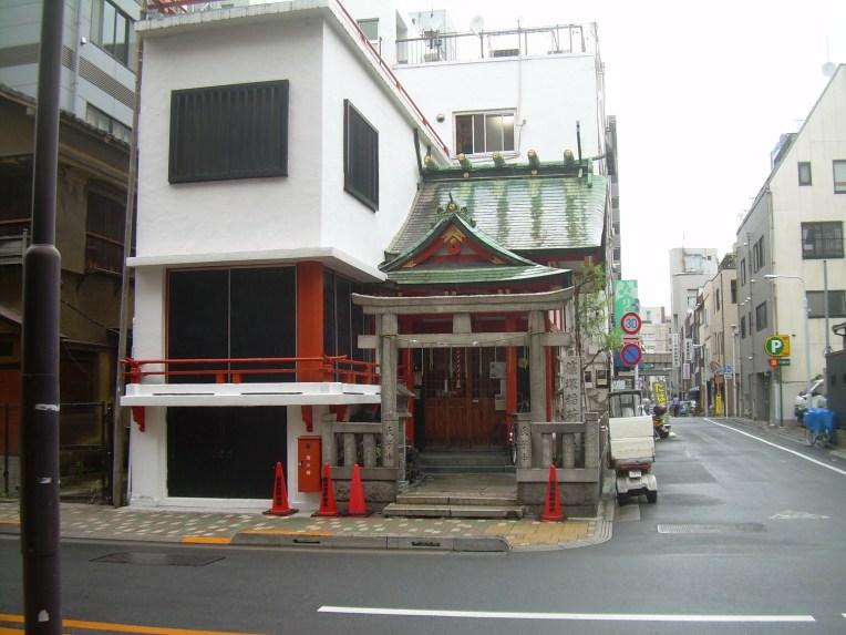 A small shrine in Akihabara