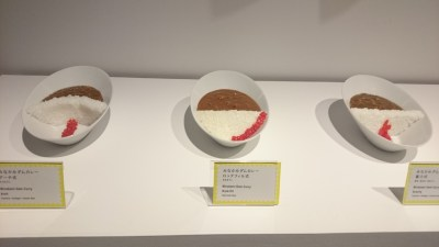 Different shapes of dam curry.