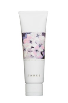 "Three ""Sakuraism"" hand cream"