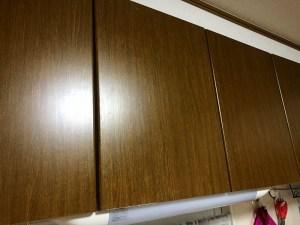 キッチン戸棚 after