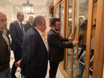 2019.11.05 Visitation of Prof. Dr. Mustafa Şentop, Speaker of the Grand National Assembly of Turkey 01