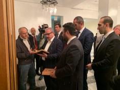 2019.11.05 Visitation of Prof. Dr. Mustafa Şentop, Speaker of the Grand National Assembly of Turkey 16