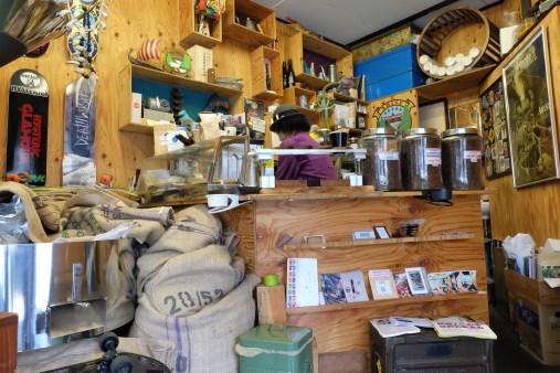 Inside Arise Coffee Roasters Kiyosumi-Shirakawa Tokyo Japan