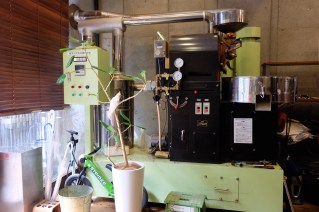 Four Kilogram Lucky Roaster at Amameria Espresso Shinagawa Tokyo Japan Cafe