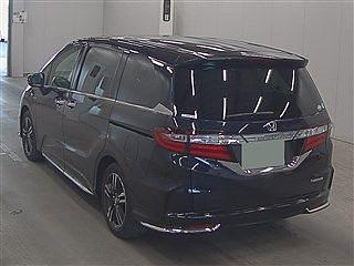 2017 Honda Odyssey Hybrid Absolute Sensing
