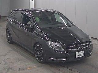 2013 Mercedes Benz B250 Blue Efficiency