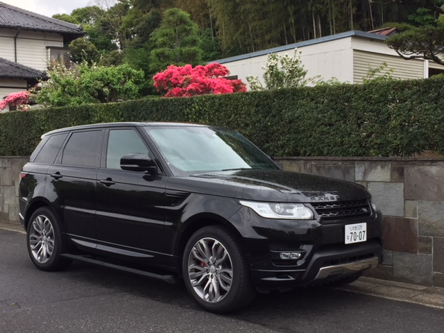 Buy a car in Japan Range Rover Sport