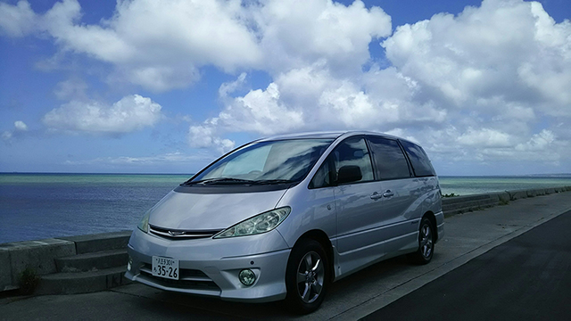 Buy a car in Japan Toyota Estima Aeras
