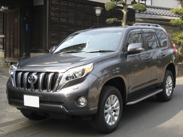 Buy a car in Japan Toyota Landcruiser Prado TZ-G