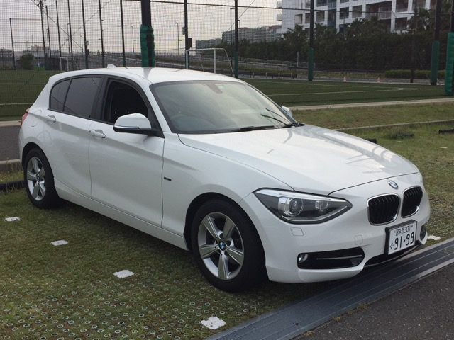 Sell you car in Japan - BMW 116i Sport