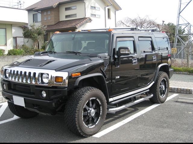 Sell my car in Japan - Hummer H2