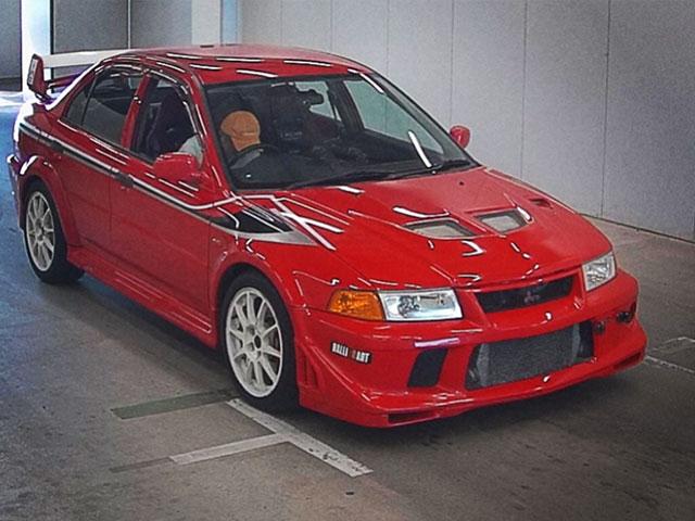 Mitsubishi Lancer Evo Vi Tommi Makinen Passion Red