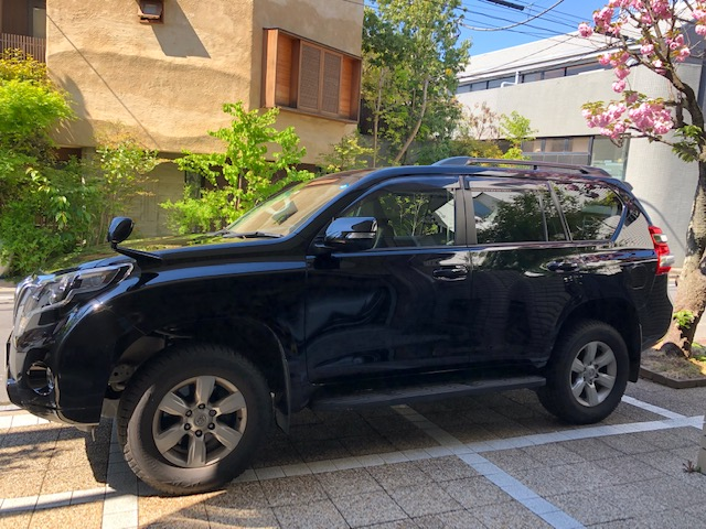 Sell my car in Japan Toyota Prado