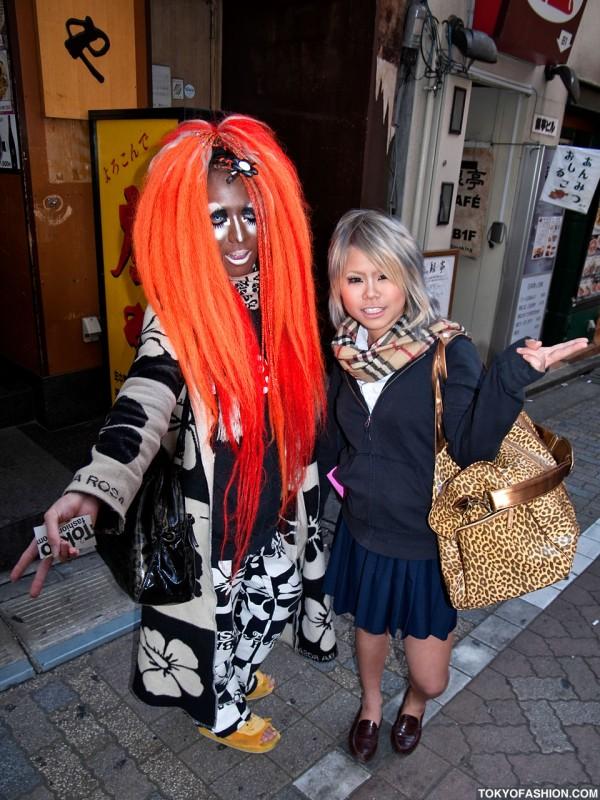 Shibuya Girl and Guy Street Fashion