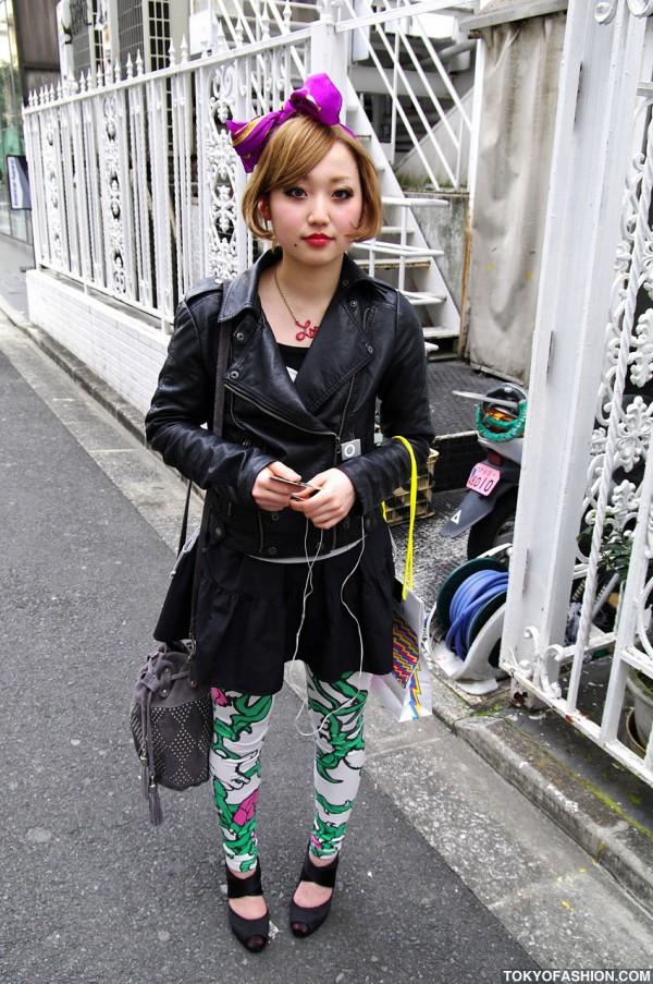 Pretty Japanese Girl in Shibuya