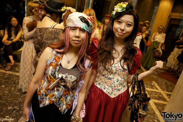 Japanese Girls at the Grimoire Party