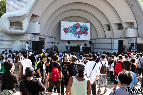 B-Boy Park MC Stage
