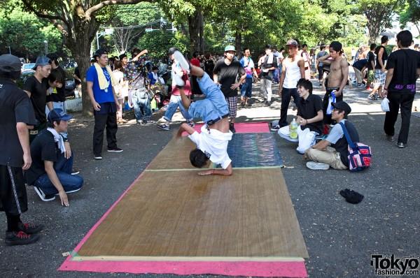 Tokyo Breakdancing