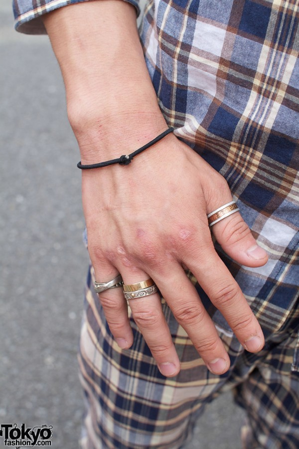 Silver rings & thumb ring