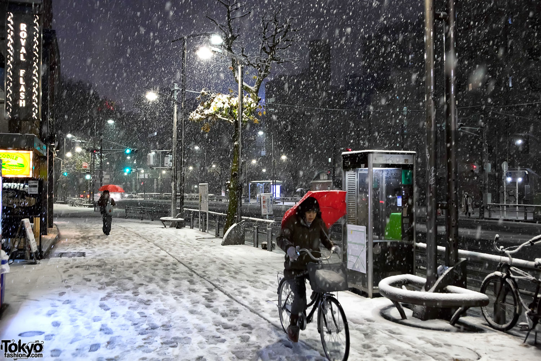 Snowing In Tokyo Tokyo Fashion News