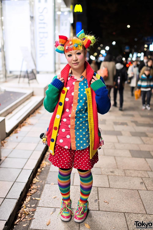 Maimais Rainbow Decora Hair Amp Fashion Trolls In Harajuku