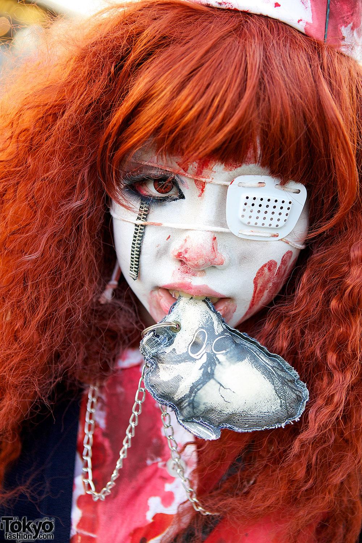 Japanese Nurse With Eye Patch Tokyo Fashion News