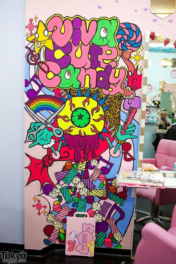 Viva Cute Candy Kawaii Amp Colorful Hair Salon In Tokyo