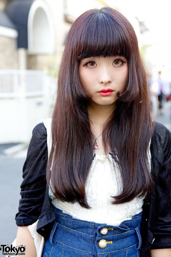 Harajuku Girls In Crop Top Amp Denim Skirt W Nile Perch