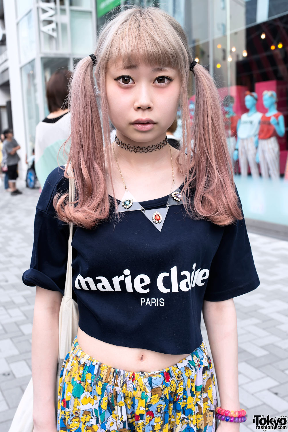 Cute Japanese Twintails Hairstyle Amp Crop Top Tokyo