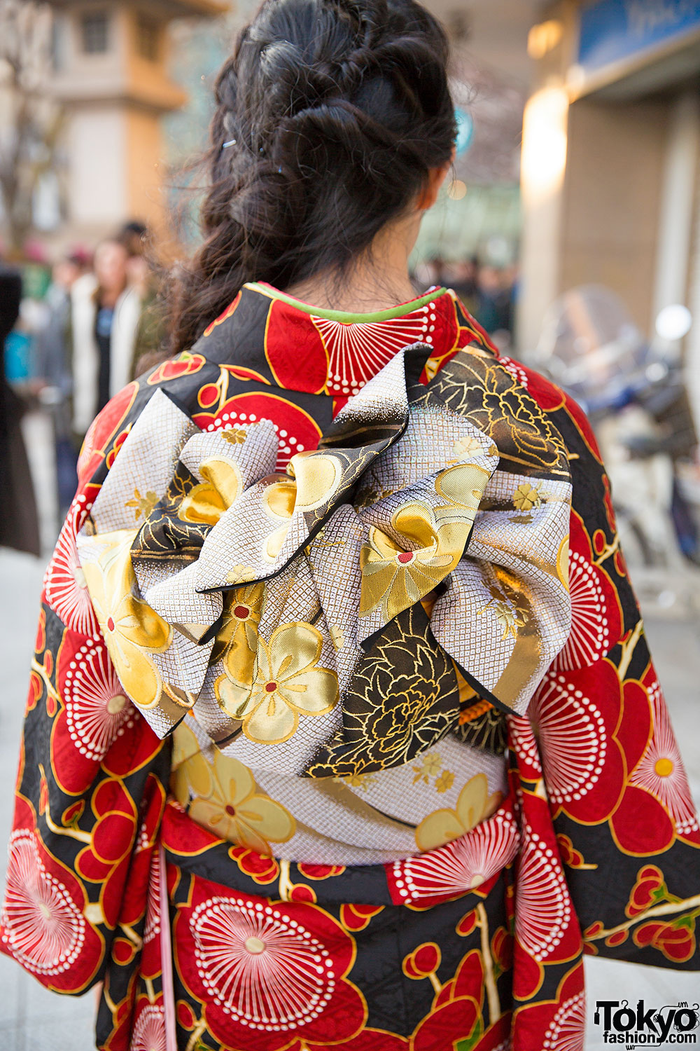 Traditional Geisha Hair