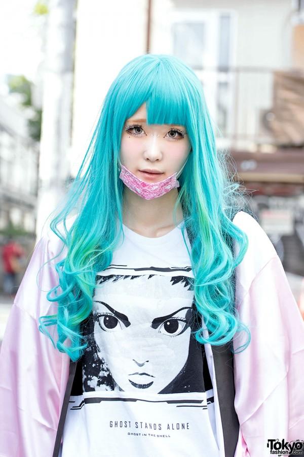 Harajuku Girls W Ghost In The Shell Love Live Itazura