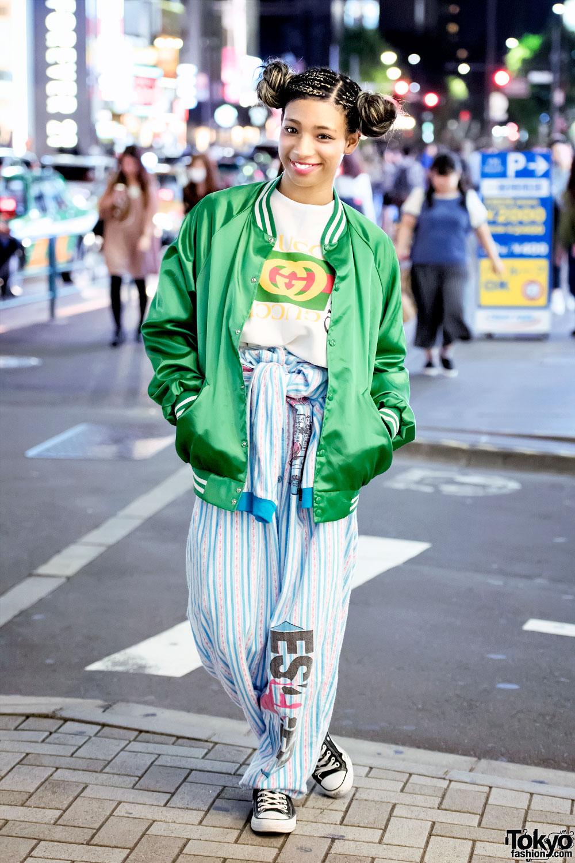 Harajuku Girl In Pinnap Fashion W Vintage Esleep
