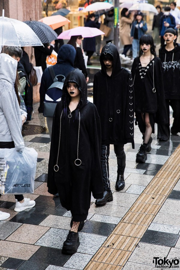 BERCERK Dirty City Japanese Fashion Brands Dark