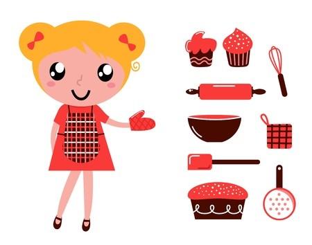 baking illustration