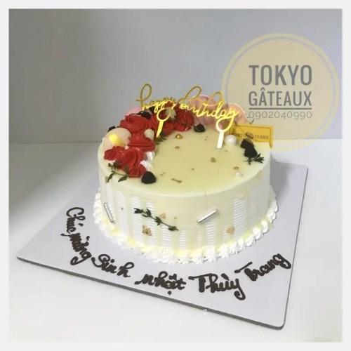 bánh sinh nhật hoa kem tươi sz 16 - 210