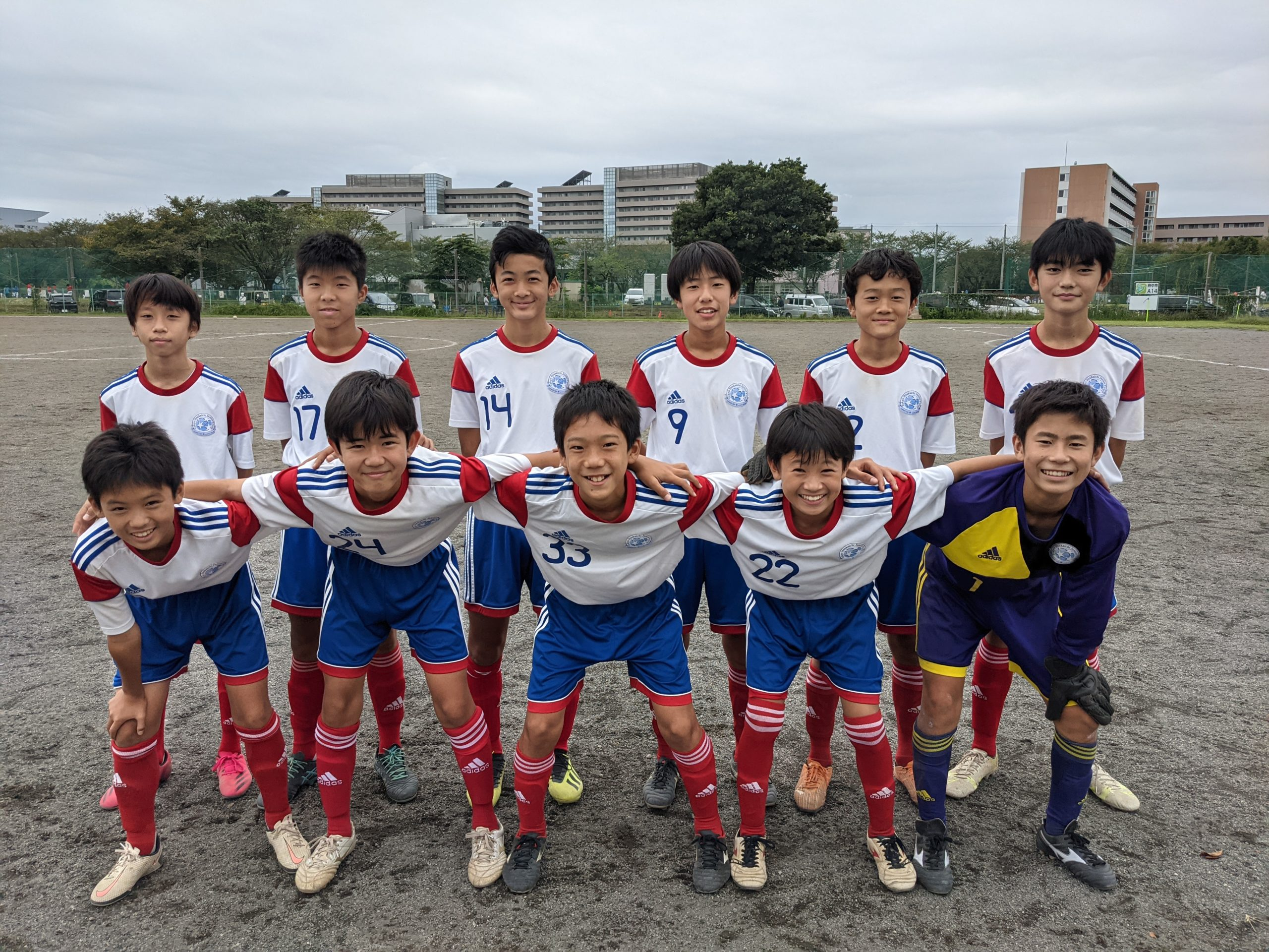 U-14選手権 vs JOGAR SC