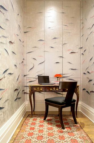 Sarah Story de gournay fish gramercyPark