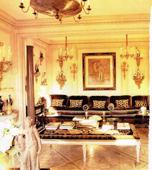 Howard Slatkin living room nook