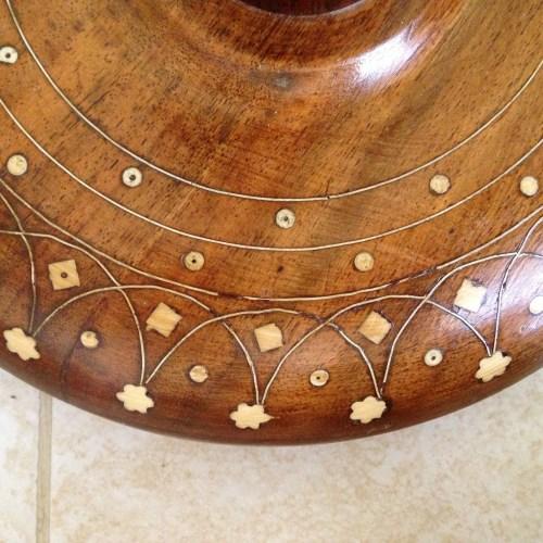Syrian lamp inlay detail