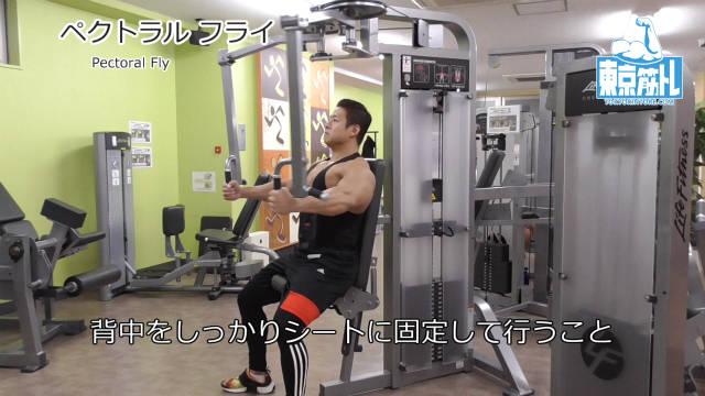 ペクトラルフライマシンで大胸筋全体を鍛えるやり方とフォーム