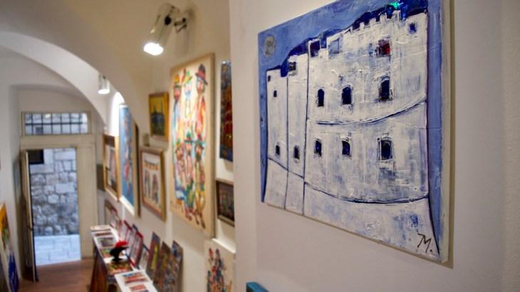 アート in ドゥブロヴニク vol.1: 気軽に立ち寄れる!旧市街のアトリエ