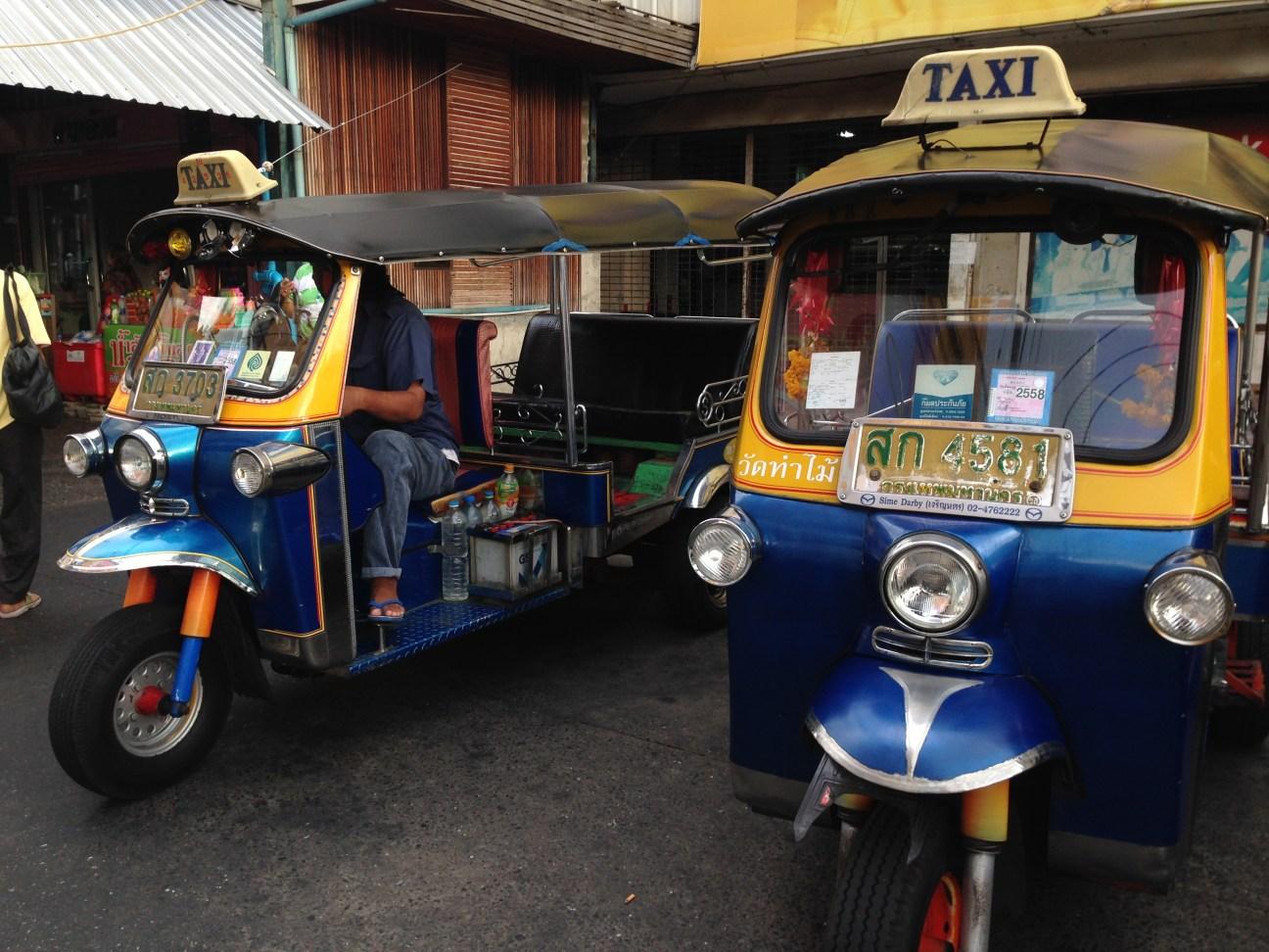 Tuc Tuc, meio de transporte preferido dos turistas em Siem Reap